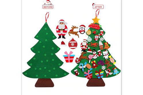 Arbre de Noël en feutrine