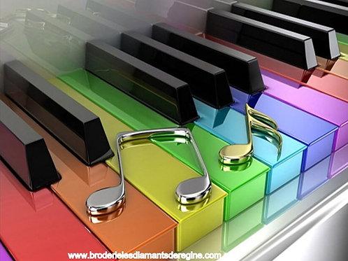 Le clavier musical