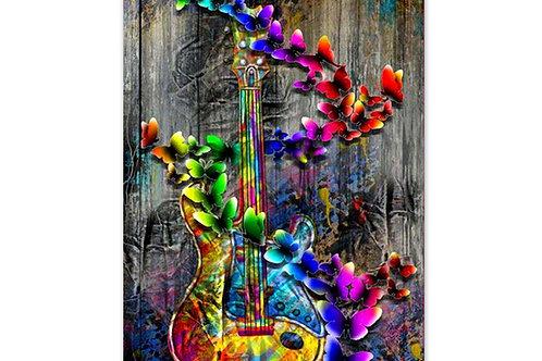 Guitare papillons