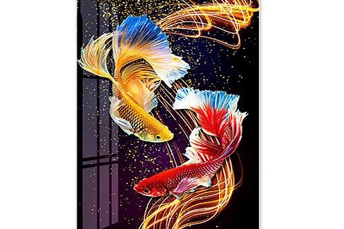 les deux beaux poissons