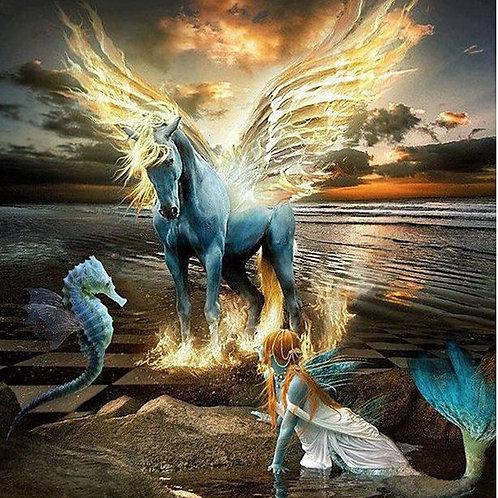 La licorne et la sirène