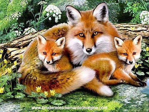 La famille renard