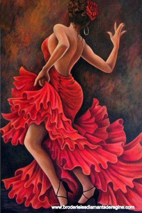La danseuse de flamenco