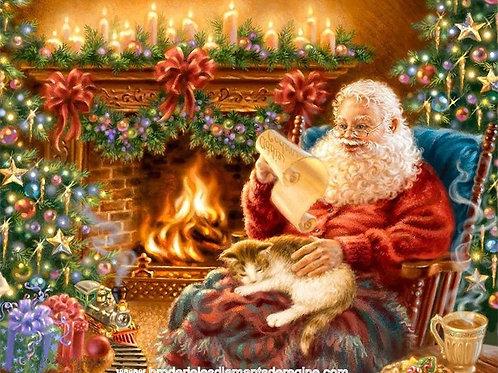 la lecture de la lettre au Père Noel