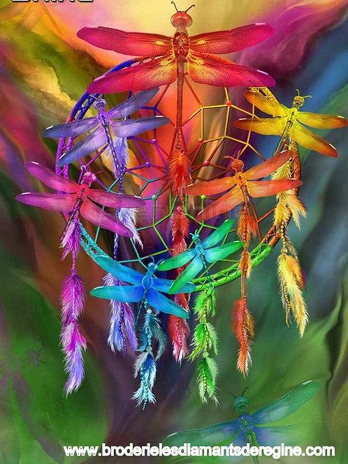 Attrape rêves libellules