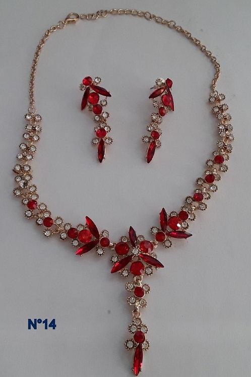 Parure bijoux fantaisies n°14