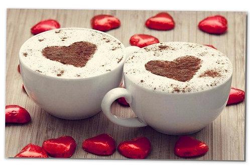 les deux tasses amour