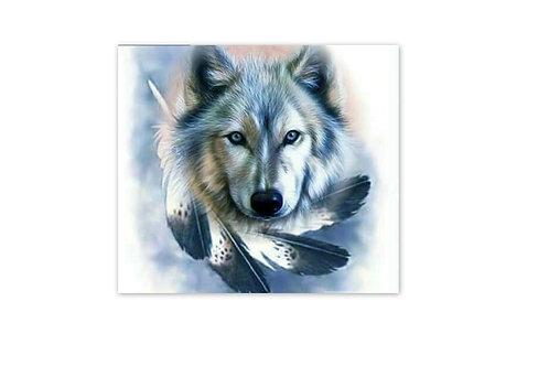 Le loup majestueux