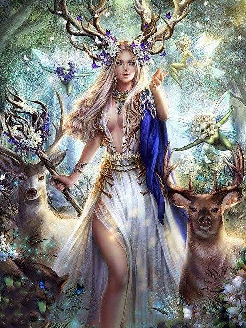 la reine des cerfs