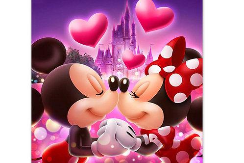 Mickey et Minnie amoureux(rupture de stock précommande possible)