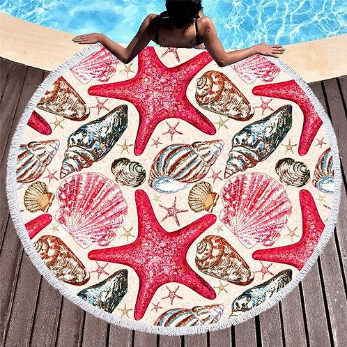 grande serviette de plage