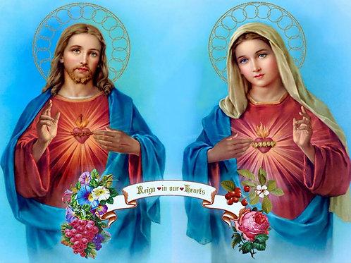 Jésus et Marie