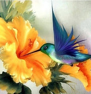 colibri et fleur 50 x 40 cm.jpg