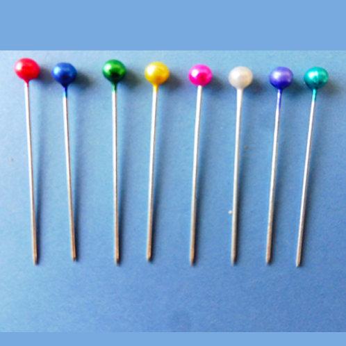 Épingles à têtes rondes x50