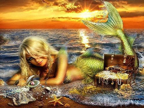 la belle sirène et son trèsor