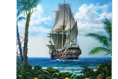 le bateau corsaire