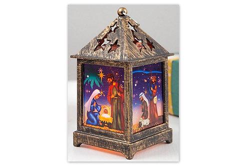 lumière décoration de noël, crèche de noël