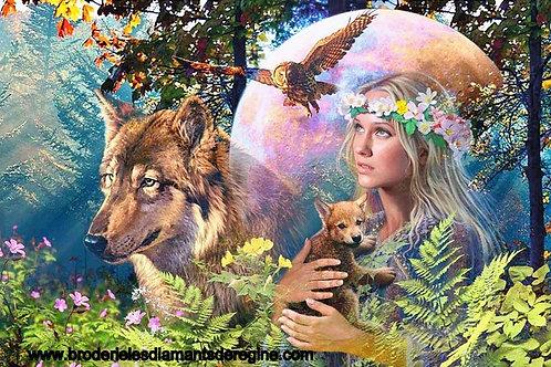 La dame de la forêt