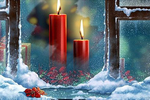 les bougies de noël