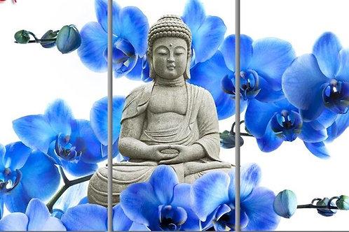 3 panneaux Bouddha