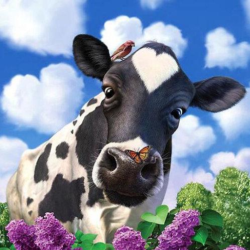 la mignonne vache