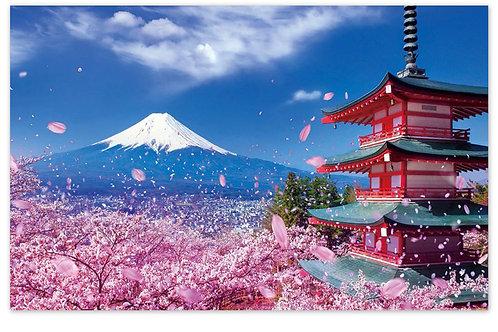 Le mont Fuji( plus en stock précommande possible)