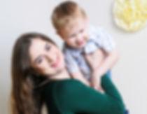 Бугаева Алина с сыном Лёшей