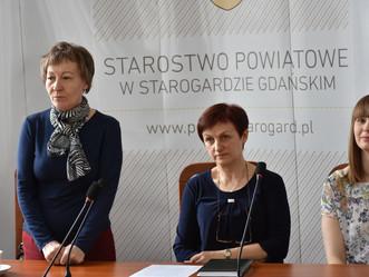 Spotkanie w Starostwie Powiatowym w Starogardzie Gdańskim