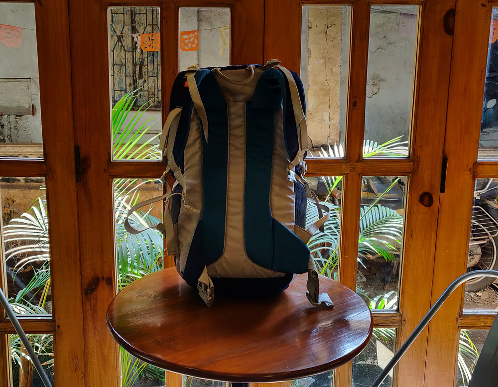 Trekking bag in Goa