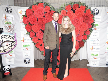 The Valentines Masked Ball is a roaring success!