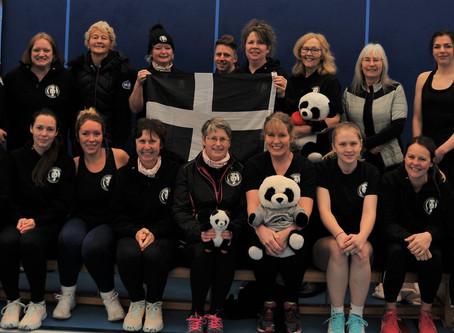 The Panda's took part in a Devon festival to celebrate International Women's Day #IWD