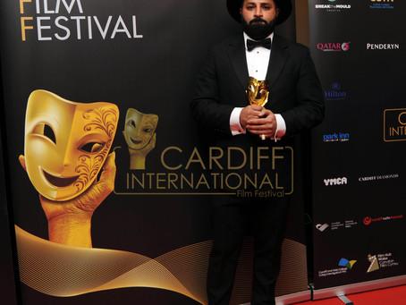 """Thaer Al-Shayei awarded """"Welsh Rising Star"""""""