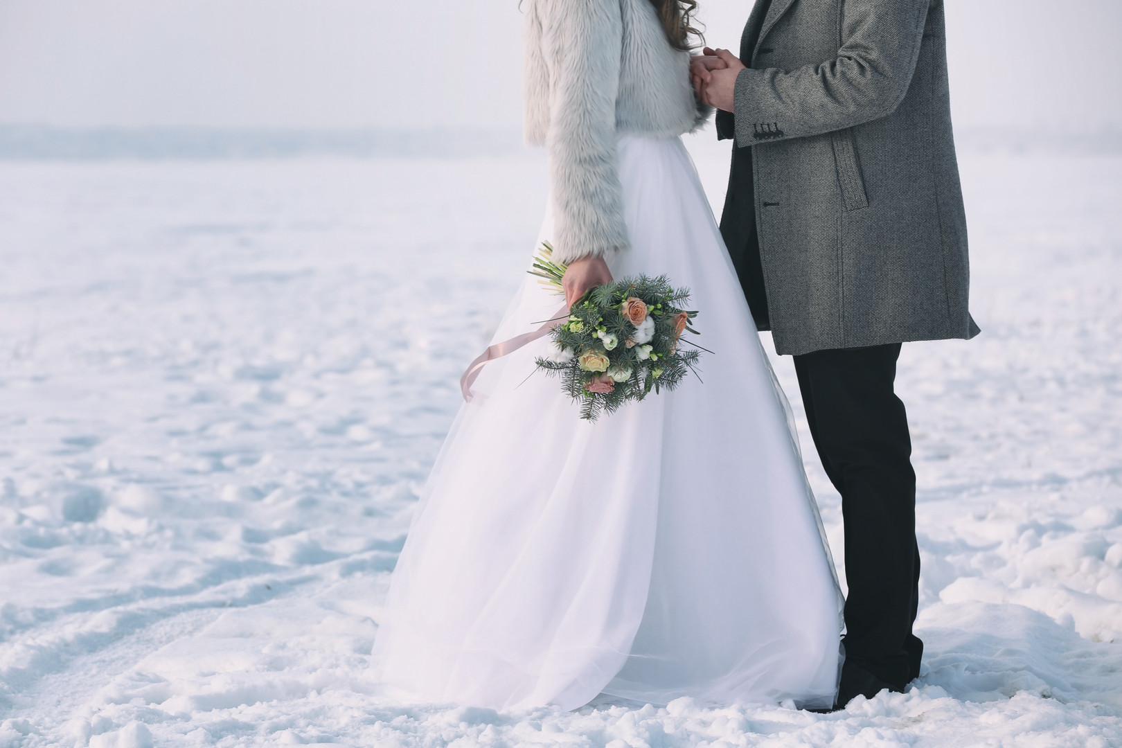 Hire Snow Machines for Winter Wedding
