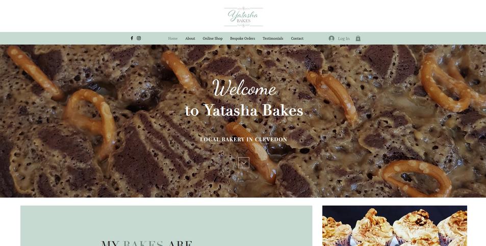 Website: Yatasha Bakes