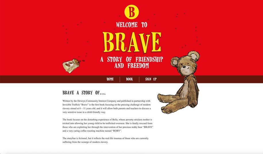 Website: Brave Book