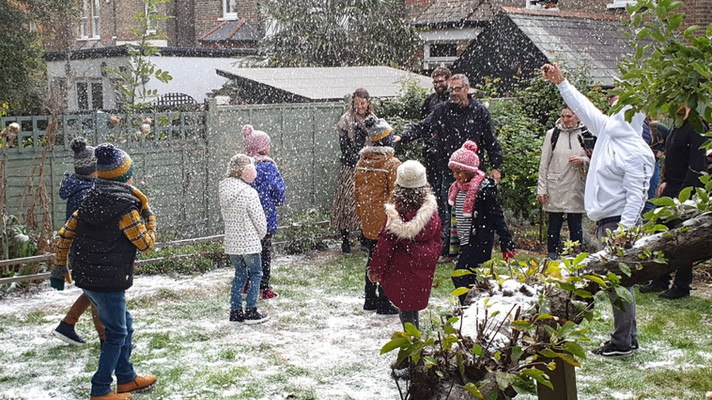 Fake Snow for Television film shoot