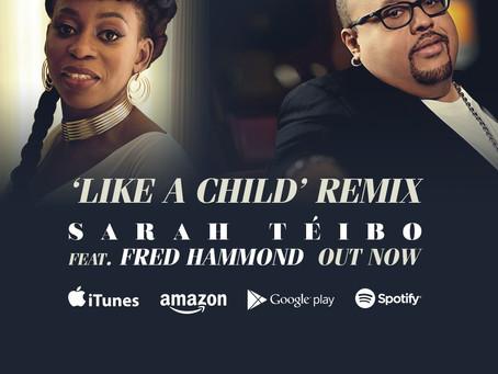 Sarah Téibo announces new album featuring Fred Hammond