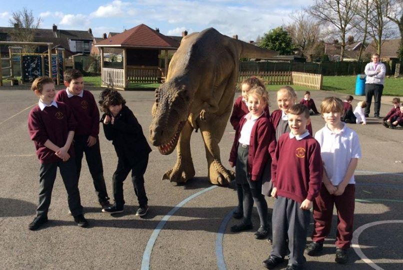 Dinosaur Hire For Schools