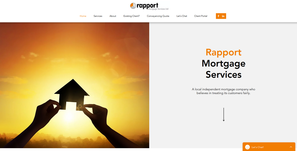 Website: Rapport Mortgage Services