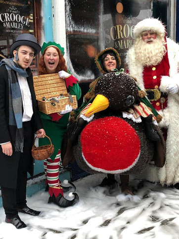 Hire dickensian christmas characters