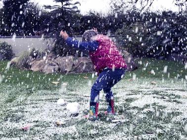 Little Boy Jumping Snow Machine Hire.jpg