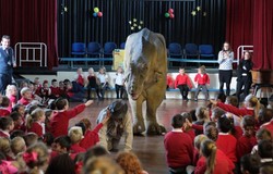 T Rex Dinosaur Hire Schools