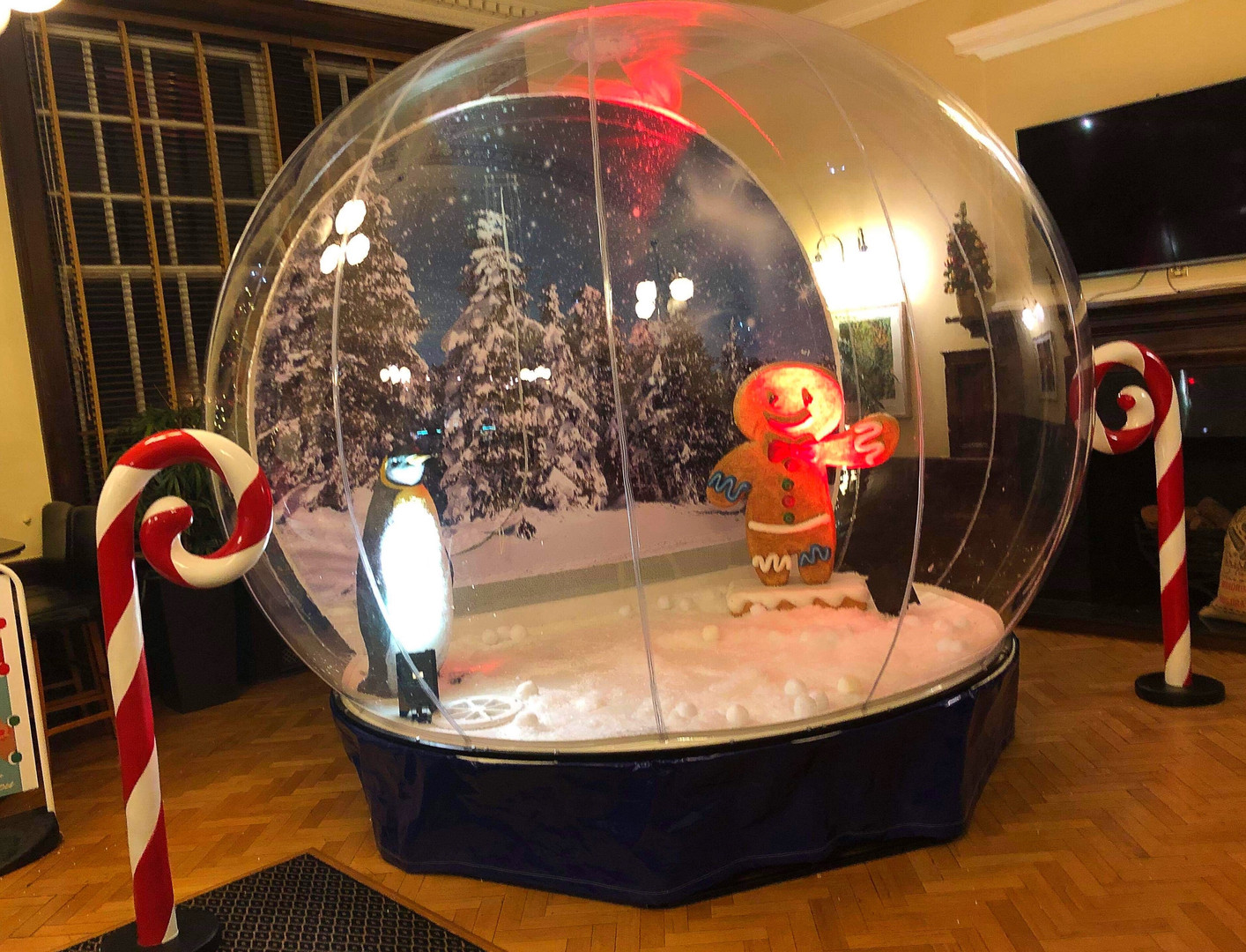 Giant Snow Globe Corporate Event Hire