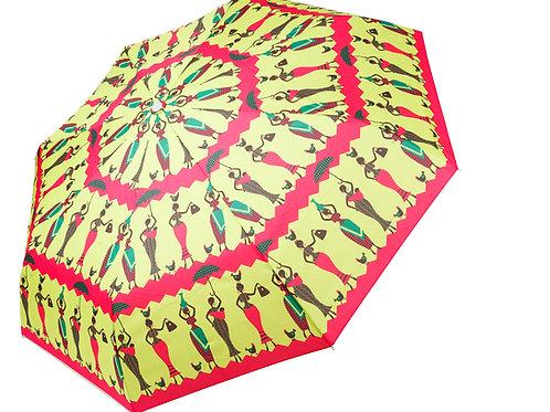 Neon Green Umbrella - YIN by Sáfójò