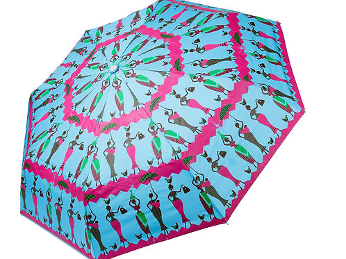 Turquoise Umbrellas - YIN by Sáfójò