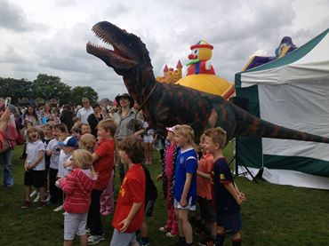 Child's Play With a Dinosaur Party