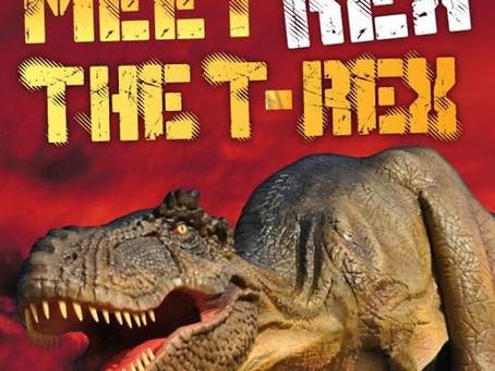 T Rex Dinosaur Meets Stars at the Royal Albert Hall