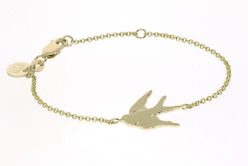 HUIA BIRD gullarmbånd