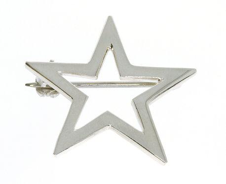 STAR nål sølv