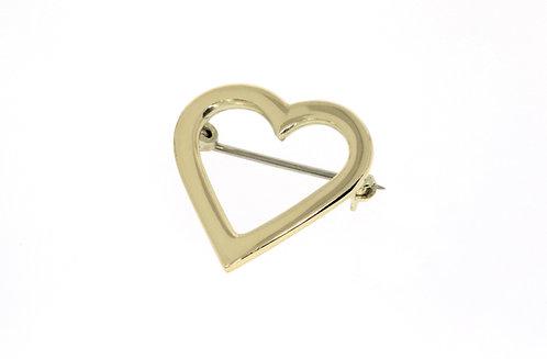 HEART nål gull